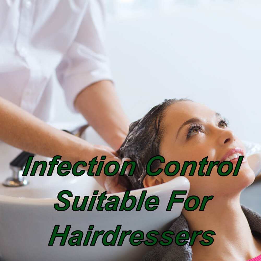 Infection control training online suitable for hairdressers, cpd certified course