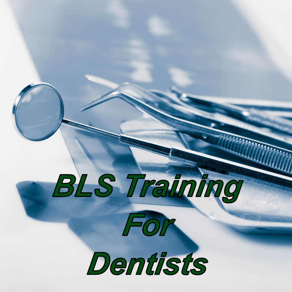 Basic life support (BLS) e-learning training course, suitable for dentists, dental nurses, hygienists