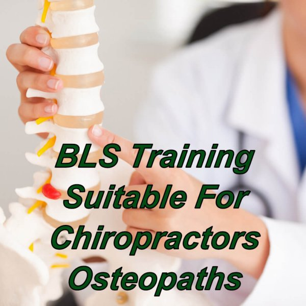 BLS training online suitable for Chiropractors, Osteopaths & Reflexology, CPD certified course